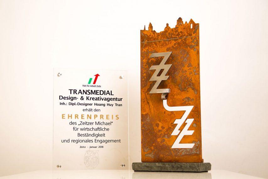 Zeitzer Michael: TRANSMEDIAL bekommt Ehrenpreis
