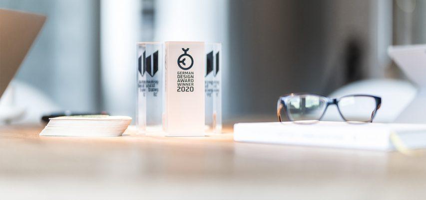 DIE GEWINNER DES GERMAN DESIGN AWARDS 2020 STEHEN FEST!