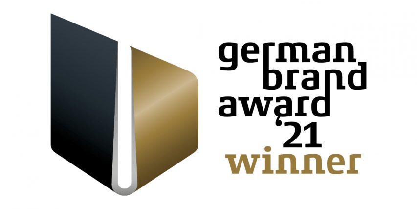 Wir sind ausgezeichnet! – German Brand Award 2021